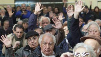 Jubilados y un ajuste que los remite a la crisis del 2001