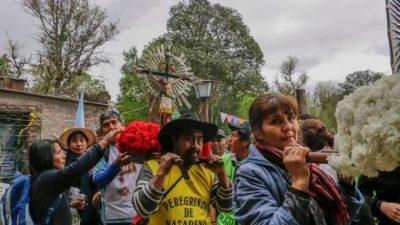 Fieles de Nazareno e Iruya caminarán 10 días para llegar a Salta antes de la procesión del Milagro