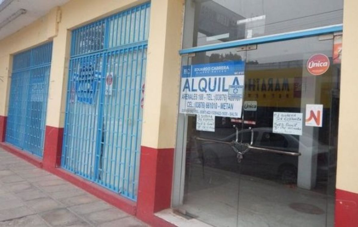 Preocupa a la Cámara de Comercio el cierre y la mala situación de gran número de negocios salteños