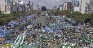 Sin clases ni hospitales públicos en la provincia de Buenos Aires, las CTA comienzan el paro nacional con distintos actos