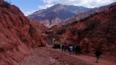 Cafayate: Una minera avanzó sobre una Reserva con fósiles de 15 millones de años