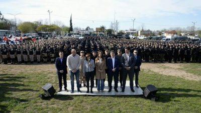 Ante el hambre, más represión: Bullrich y Vidal suman 7500 policías al conurbano