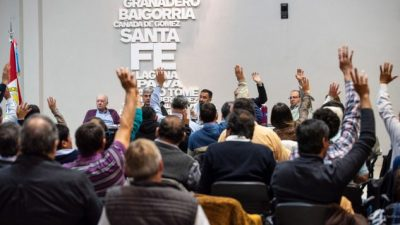 Municipales santafesinos resolvieron Paro y Movilización