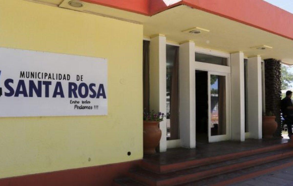 La comuna de Santa Rosa no completa sus balances desde 2013