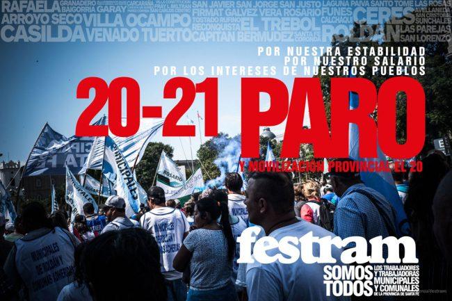 Santa Fe: FESTRAM convocó a Plenario de Secretarios Generales