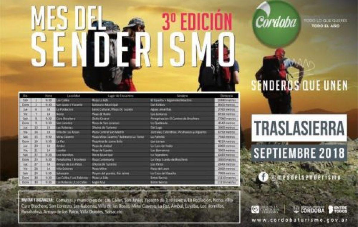 3° edición del mes del senderismo, Córdoba