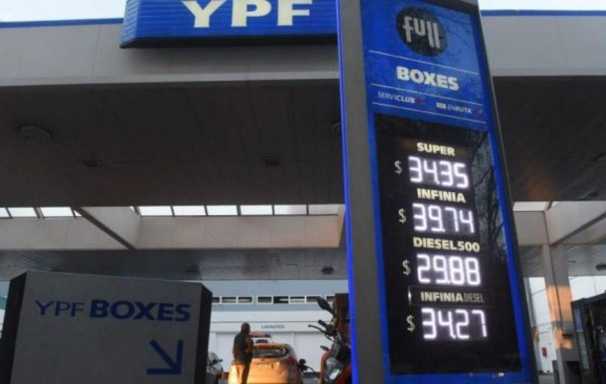 En un año los combustibles aumentaron 71% en Mendoza