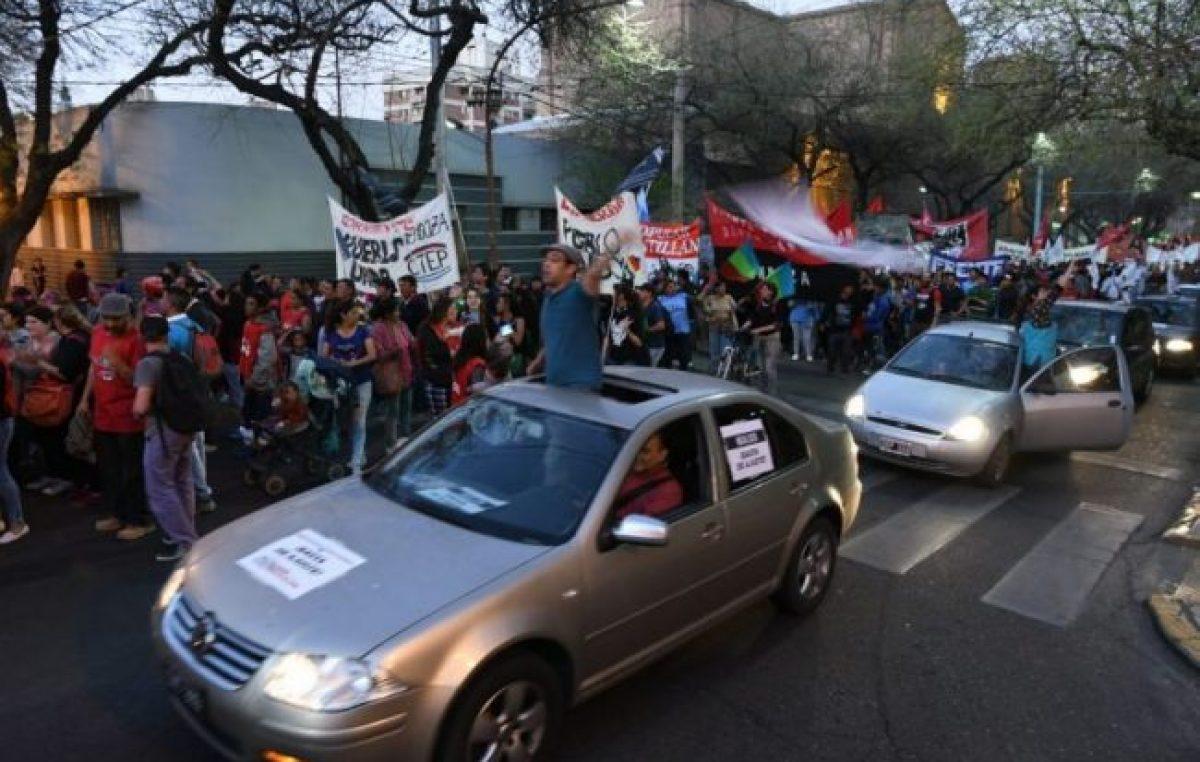 Mendoza multó el caravanazo por la Educación: cada agrupación deberá pagar $ 53.400