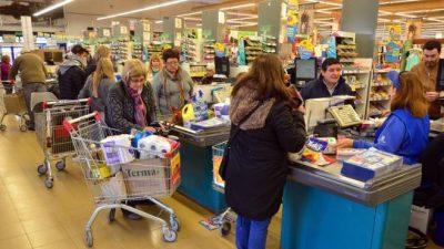 Los precios aumentaron hasta un 20% en Viedma y Patagones