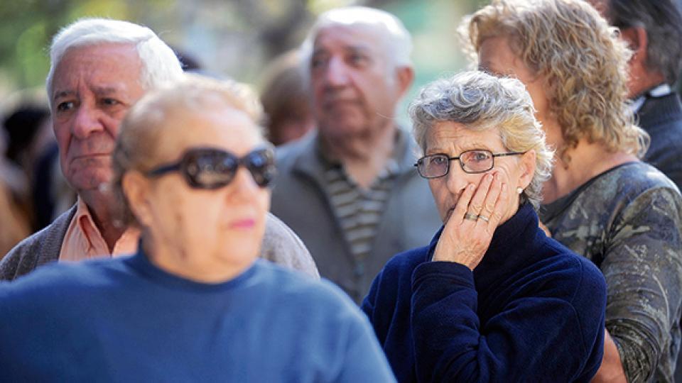 Ni el fondo de los jubilados va a quedar