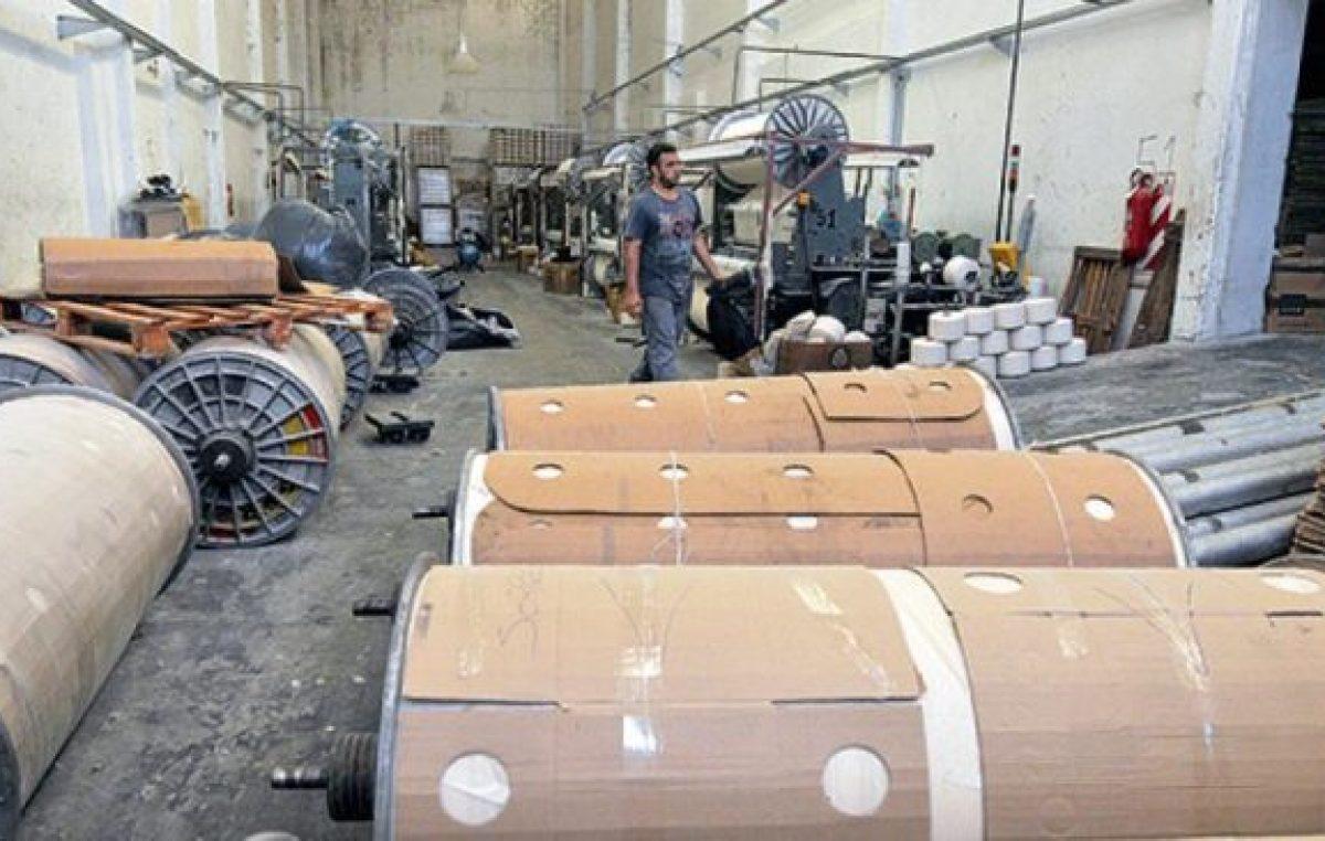 En las fábricas hay cada vez menos actividad
