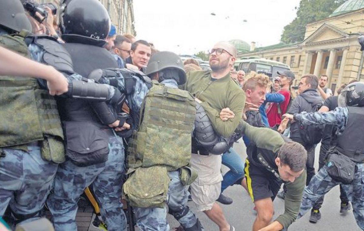 Rusia: Contra la reforma jubilatoria