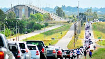 En tres días, 10 mil uruguayos compraron en Concordia, Colón y Gualeguaychú