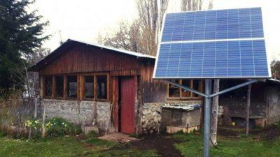 La luz llegará al interior neuquino en paneles de energía solar
