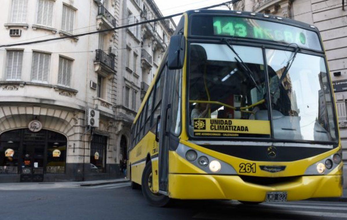 El boleto del colectivo en Rosario sube hoy por quinta vez en el año y se va a $ 18,28