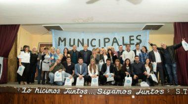 Asumieron las nuevas autoridades en el sindicato municipal rosarino