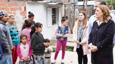 Avanzan en Rosario las obras del Plan Abre en el barrio Vía Honda, de la zona oeste