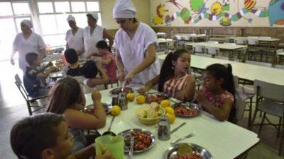 Granadero Baigorria: Por la crisis, reemplazan la carne en comedores escolares