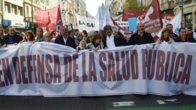 "Tras duro diagnóstico, intendentes del PJ bonaerense se suman a la marcha ""en Defensa de la salud pública"""