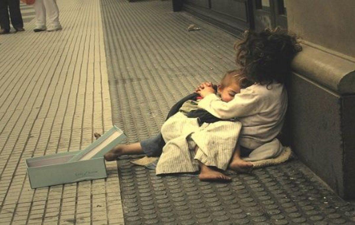 La calle no es un lugar para vivir