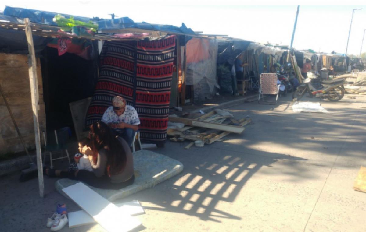 """Alerta por la crisis: """"En los barrios, la gente no puede tener paciencia y esperar cuatro años"""""""