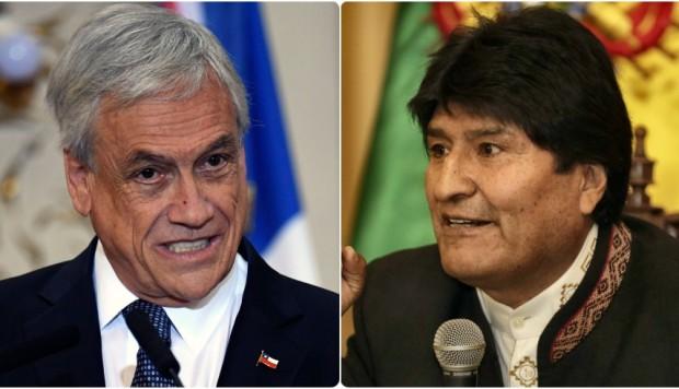 Evo busca el diálogo, Piñera lo rechaza