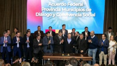 Apenas 24 intendentes cordobeses no firmaron el pacto fiscal provincial