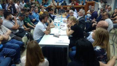 Activa participación de Municipales santafesinos contra el presupuesto del FMI