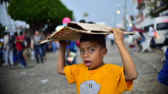 Trump contra la caravana de migrantes
