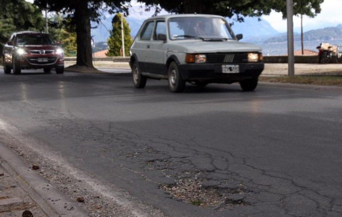 El municipio de Bariloche se endeuda en 85 millones para bacheo y pavimento