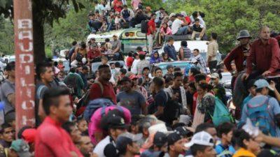 Trump manda al Ejército para frenar la caravana