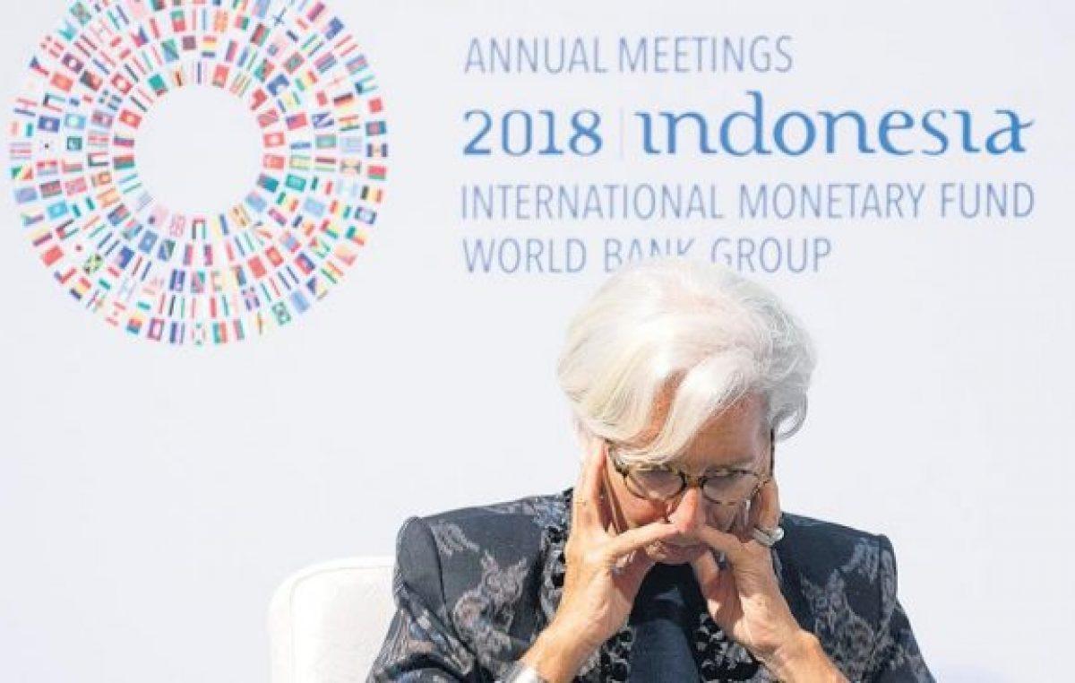 El FMI teme una estampida de capitales