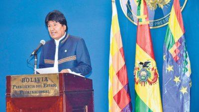 Vigilia en La Paz por el fallo de La Haya