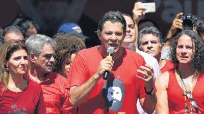 """""""El voto del pueblo salvará a Brasil"""""""