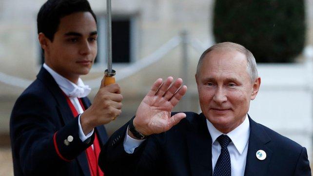 Putin alentó la idea francesa de crear un ejército europeo