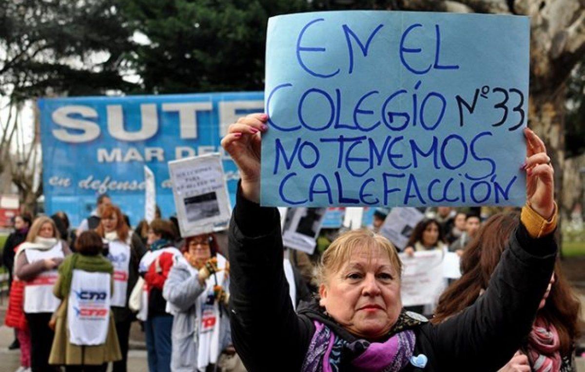 Mar del Plata: Arroyo denuncia que la Provincia y la Nación no aportan para la educación municipal