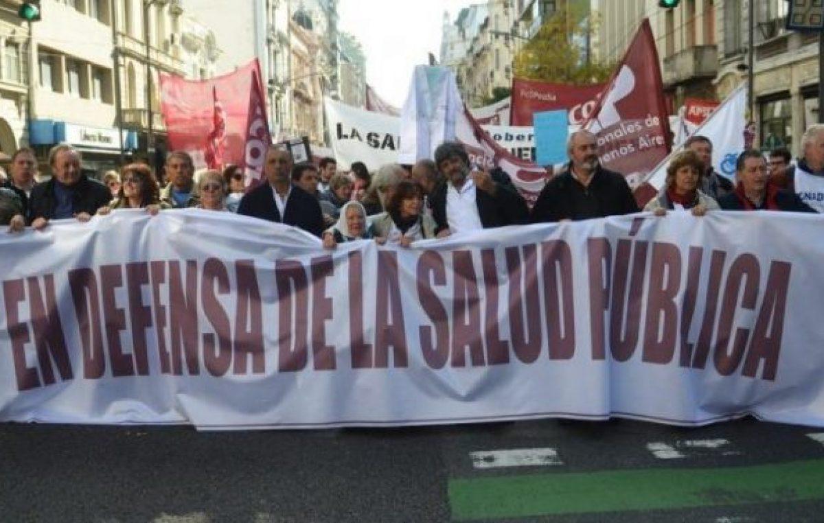 """""""Es necesario y prioritario recuperar el Ministerio de Salud de la Nación"""""""