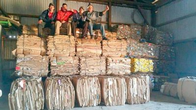 Sampacho apunta a convertirse en un polo de reciclado regional