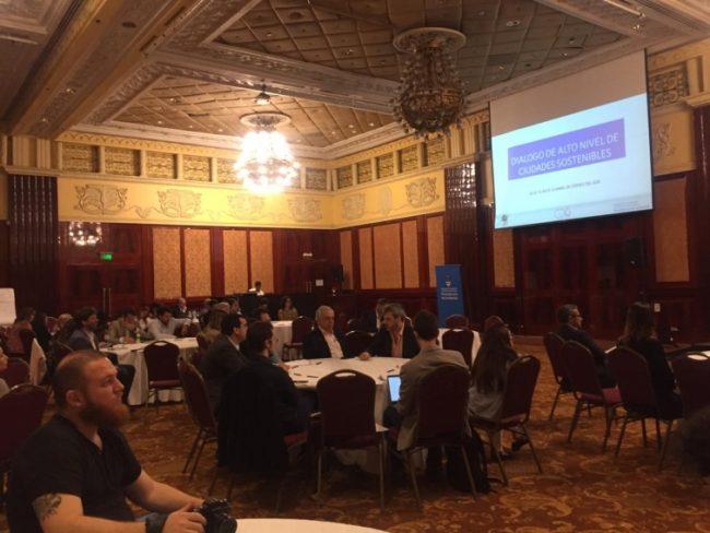 El intendente de Ushuaia participó del encuentro de Ciudades sostenibles