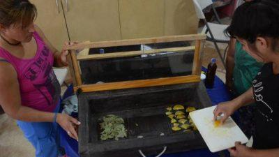 Neuquén: Secadores solares de alimentos para ayudar a los que menos tienen