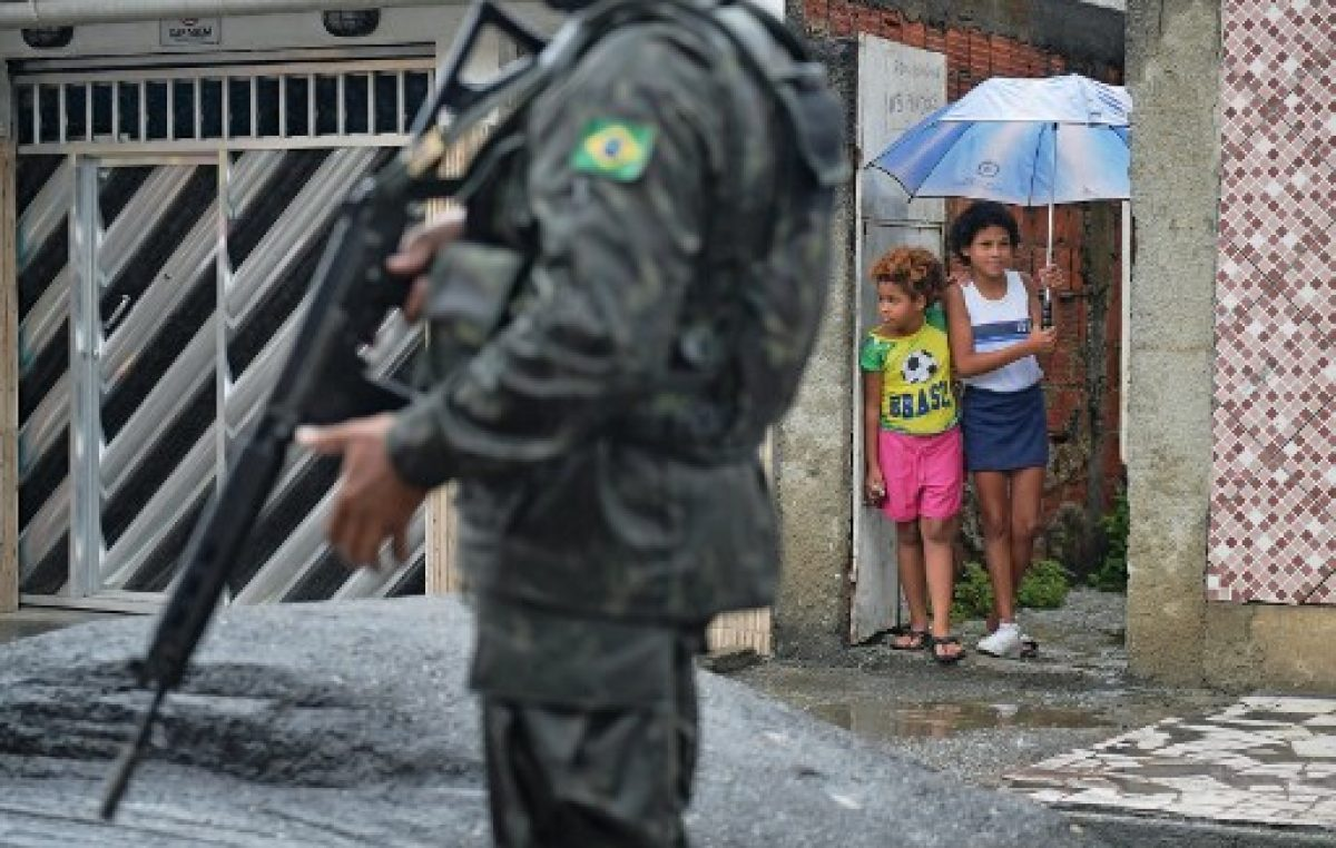 El gobernador de Río pone francotiradores a asesinar