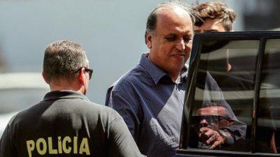 Metieron preso el gobernador de Río