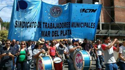 Los municipales de Mar del Plata anunciarían medidas de fuerza para la semana que viene