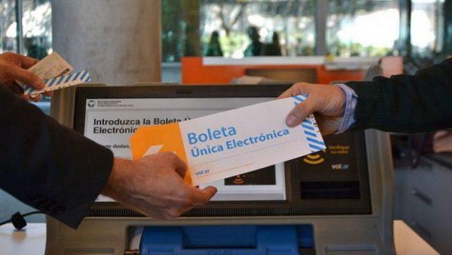 Boleta electrónica: hay 21 municipios neuquinos que hacen ensayos