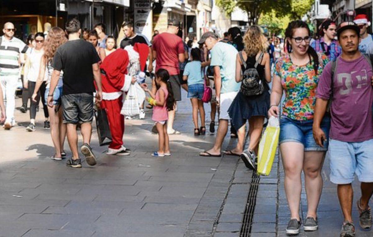 Las ventas navideñas cayeron en Rosario más que a nivel nacional