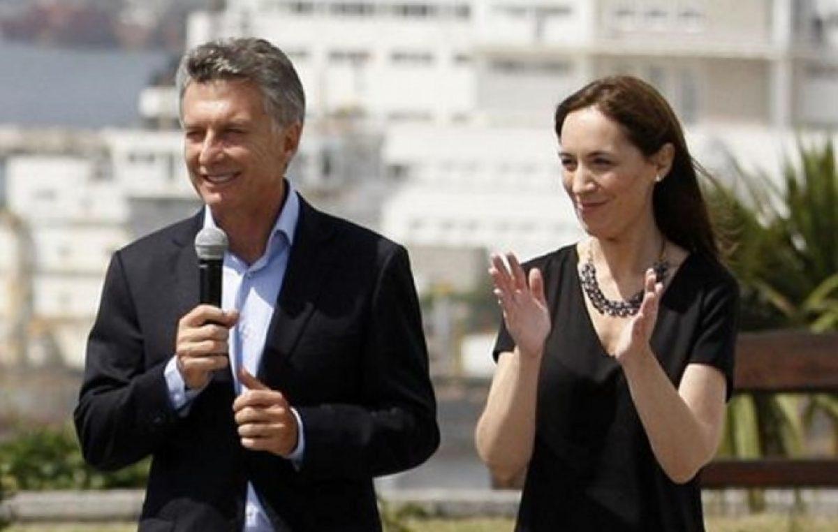 Vidal confirmó que le pidió a Macri «actualización del Fondo del Conurbano» por 19 mil millones de pesos