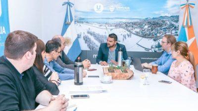El intendente de Ushuaia se reunió con especialista en ciudades inteligentes