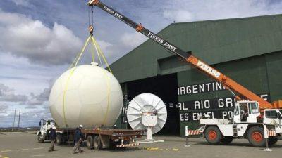 INVAP instaló el radar meteorológico más austral del mundo en Río Grande