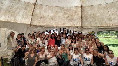 Operativo clamor de las mujeres del peronismo para que Magario sea candidata a Gobernadora