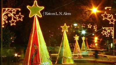 Alem prepara la Fiesta Nacional de la Navidad del Litoral